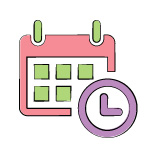 changes in routine calendar icon