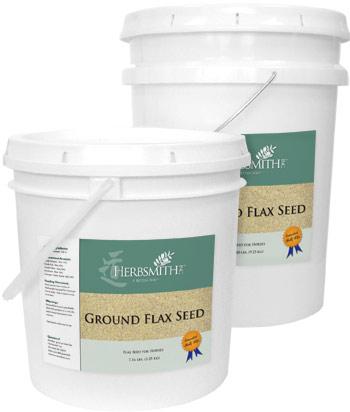 Ground Flax Buckets
