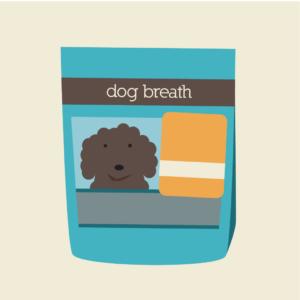 Cartoon Dog Breath